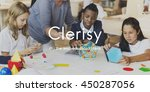 clerisy education knowledge... | Shutterstock . vector #450287056