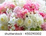 wonderful luxury wedding... | Shutterstock . vector #450290302