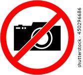 no photography  camera...   Shutterstock . vector #450296686