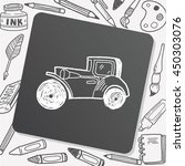 car doodle | Shutterstock .eps vector #450303076