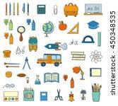 vector illustration with... | Shutterstock .eps vector #450348535