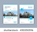abstract blurb theme. blue art... | Shutterstock .eps vector #450350596