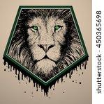 lion logo | Shutterstock .eps vector #450365698