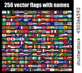 flags of the world  round icons ...   Shutterstock .eps vector #450366592