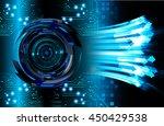 eye arrow future technology ... | Shutterstock . vector #450429538