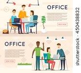 business cartoon characters....   Shutterstock .eps vector #450438832