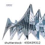 futuristic building...   Shutterstock . vector #450439312