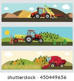 agriculture and farming.... | Shutterstock .eps vector #450449656