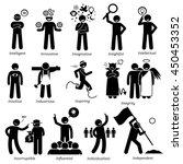 positive personalities... | Shutterstock . vector #450453352