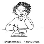 a black and white vector... | Shutterstock .eps vector #450493906