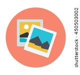 photos vector icon   Shutterstock .eps vector #450503002