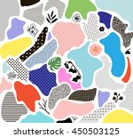 creative geometric background... | Shutterstock .eps vector #450503125