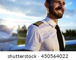 Portrait Of Young Pilot In...