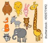 vector illustration of animal    Shutterstock .eps vector #450577492