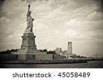 Statue Of Liberty Before...