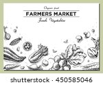 templates for label design with ... | Shutterstock . vector #450585046