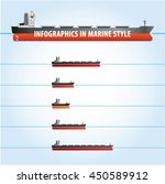 infographic elements set in a... | Shutterstock .eps vector #450589912