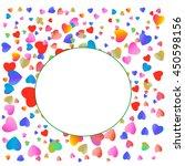 hearts | Shutterstock .eps vector #450598156