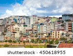 da lat city  lam dong province  ... | Shutterstock . vector #450618955