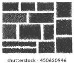 doodle frames vector. set of... | Shutterstock .eps vector #450630946