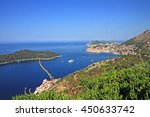 the isle of lokrum and... | Shutterstock . vector #450633742
