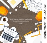 engineering and architecture... | Shutterstock .eps vector #450655852
