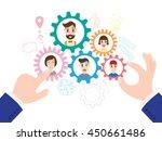 vector illustration of business ... | Shutterstock .eps vector #450661486