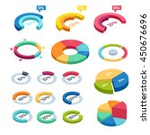 isometric icons  elements of... | Shutterstock .eps vector #450676696