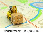 packages shipment  logistics... | Shutterstock . vector #450708646