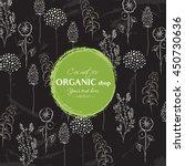 vector vintage template label... | Shutterstock .eps vector #450730636