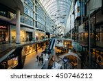 Small photo of The interior of the Eaton Centre, in downtown Toronto, Ontario.