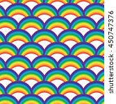 seamless raster pattern with... | Shutterstock . vector #450747376
