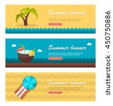 travel and vacation vector... | Shutterstock .eps vector #450750886