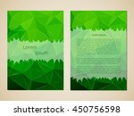 template invitations with a... | Shutterstock .eps vector #450756598