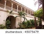 Casa Manila, restored Spanish Merchants house in Manila in the Philippines
