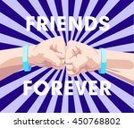 vector illustration poster to a ... | Shutterstock .eps vector #450768802