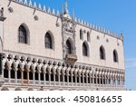 exterior view of doge's palace... | Shutterstock . vector #450816655