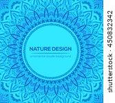 vector mandala decor for your...   Shutterstock .eps vector #450832342