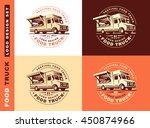 logo of food truck | Shutterstock .eps vector #450874966