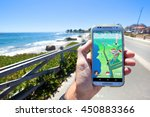 santa cruz  california   july...   Shutterstock . vector #450883366