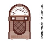 jukebox  isolated icon design ... | Shutterstock .eps vector #450884836