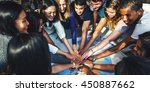 people friendship brainstorming ... | Shutterstock . vector #450887662