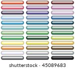 set of varicolored buttons for... | Shutterstock .eps vector #45089683