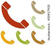 phone sign illustration....