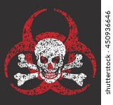 distressed grunge vector... | Shutterstock .eps vector #450936646