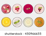 design concept of mockup fruit... | Shutterstock . vector #450966655