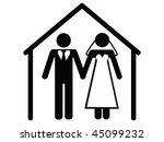wedding vector | Shutterstock .eps vector #45099232