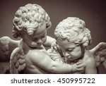 Beautiful Marble Statue Of Two...