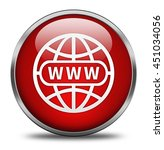 website button isolated on... | Shutterstock . vector #451034056