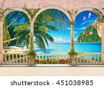 Terrace With Colonnade And...